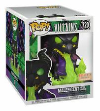 Funko Pop! Movies: Disney Villains - Maleficent as the Dragon (Metallic) (6 inch) (Glows in the Dark) Vinyl Figure (Box Lunch Exclusive)