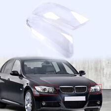 Headlight Lens Plastic Shell Cover Fit For BMW E90 Sedan E91 Touring 2004-2007