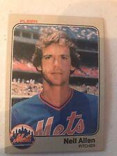 1983 Fleer Neil Allen New York Mets 536