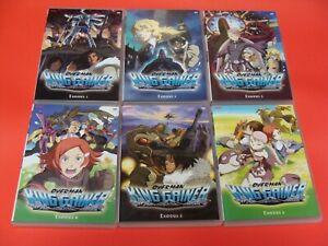 Overman King Gainer Complete Series Exodus 1,2,3,4,5,6 Bandai Entertainment DVD
