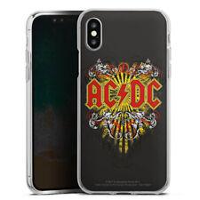 Apple iPhone X Silikon Hülle Case - ACDC Danger