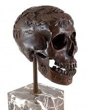 Moderne Kunst - Ritueller Totenkopf / Schädel - signiert Stevens