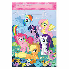 16 My Little Pony Birthday Party Favor Bags Treat Sacks Party Supply Decorations