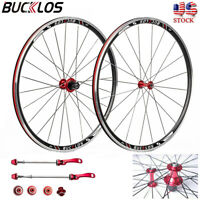 Road Bike 700C Wheelset Double-Aluminum Clincher fit 7-11 Speed Cassette Rims