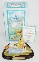 Royal Doulton Winnie Pooh Collection WP21 Ltd Edition SUMMERS DAY PICNIC Boxed