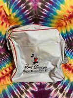 Vintage 1987 Walt Disneys Mickey Mouse Magic Kingdom Gray Travel Shoulder Bag