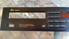 New listing Dbx Dx-5 Cd Player Parts Front Face Plate