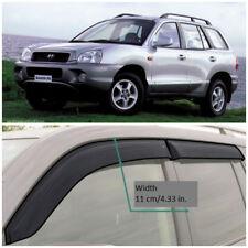 HE21200 Window Visors Guard Vent Wide Deflectors For Hyundai Santa Fe 2000-2006