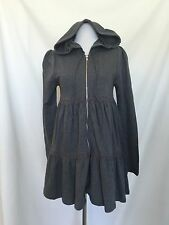 Romeo And Juliet Couture Gray Hoodied Jacket. NWT Retails $220 Price $68 XS