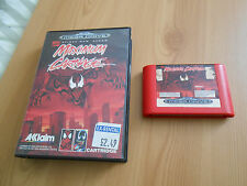 Spider Man Venom Maximum Carnage for Sega Mega Drive