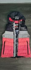 New listing womens/girls clothes superdry sport gillet size 10 perfect cond
