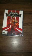 Unreal Tournament U 3 PC Game 2007 DVD NEW SEALED With Key US Version Epic