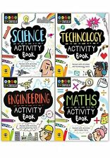 STEM Starter Collection 4 Books Set Maths Science Technology Engineering NEW