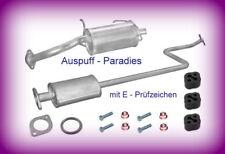 Abgasanlage Auspuff Endtopf Nissan Micra II 1.0i 16V Typ K11 (44kW / 60PS) + Kit