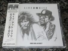 Ron WOOD Japan PROMO CD Live At The Ritz OBI Bo Diddley ROLLING STONES 1988 orig