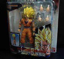 Bandai DragonBall Z DBZ Hybrid Action Super Saiyan 3 SS3 Goku ACTION FIGURE #JH6