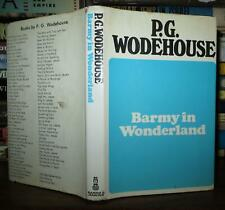 Wodehouse, P G BARMY IN WONDERLAND  1st Edition Thus 1st Printing