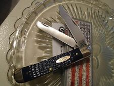 Case XX American Workman Synthetic Navy Trapper Pocket Knife 13000 6254SS