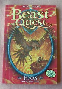BEAST QUEST #6 EPOS THE FLAME BIRD. Adam Blade