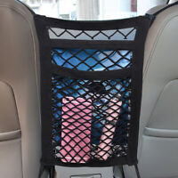 1x Black Car Dog Pet Barrier Guard Back Seat Safety Protector Mesh Net Universal