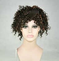Women Africa Kanekalon Caribbean Costume Cosplay Party Short Curly Hair Wigs
