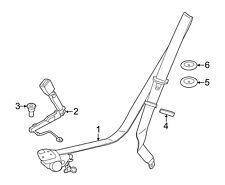For Toyota Matrix Single Stage Seat Belt Repair OEM