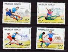 Timbres avec 5 timbres sur football