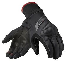 GUANTI GLOVES MOTO REV'IT REVIT CRATER WSP WINDSTOPPER ANTIVENTO NERO TG M