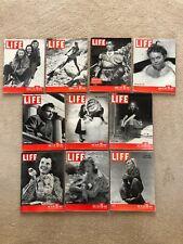 Life Magazines, 1947, Lot of 10