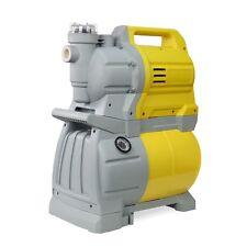 "1-3/4 HP 1"" Shallow Well Garden Jet Water Pump Booster Tank w Built-in Strainer"