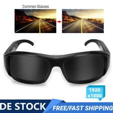 1920x1080 Sportkamera Sonnenbrille Kamera Brille Videokamera Glaskamera Cam NEU