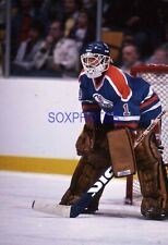 MP1-032 1982 GRANT FUHR OILERS GOALIE NHL ORIG. 35MM COLOR SLIDE