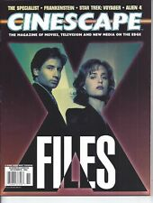 Cinescape Magazine November 1994 X Files Alien 4  Star Trek Voyager