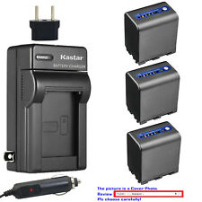 Kastar Battery AC Travel Charger for Sony NP-QM91D & Cyber-shot DSC-F828 DSC-R1