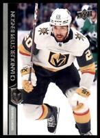 2020-21 UD Series 2 Base French #434 Chandler Stephenson - Vegas Golden Knights