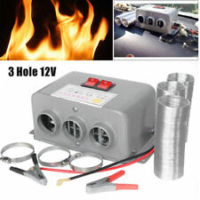 12V Car Heating Cooling Compact Heater 3Hole 600W-800W Defroster Demister Warmer