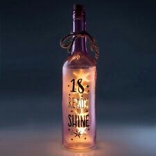 18TH BIRTHDAY Wishlight Bottle