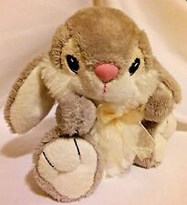 "Cute Cuddly Bunny Rabbit Dan Dee Soft Plush 7"" Hoppy Hopster Thumper Easter"