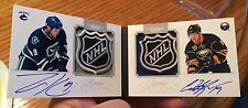 2011/12 Dominion #1/1 Rookie Booklet Shield Auto Zack Kassian Edmonton Oilers