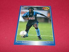 PI. AUBAME LE HAVRE AC HAC DESCHASEAUX TOULOUSE PANINI FOOTBALL CARD 1994-1995