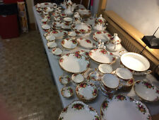 ROYAL ALBERT OLD COUNTRY ROSES DINNER SERVICE FULL SET OR ONE PIECE
