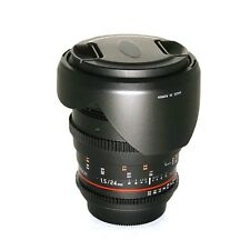 Rokinon 24mm T1.5 Cine DS Lens for Canon EF Mount - Free Shipping