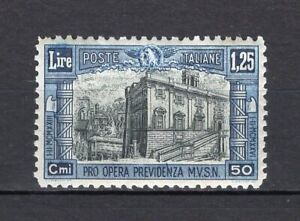 #101 - Regno - 1,25 lire Previdenza milizia (2^ emissione), 1928 - Nuovo (**)