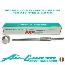 Set Ugello Materiale + Astina per Air Gunsa AZ3 HTE2 - Nozzle Needle Set 2.0 mm