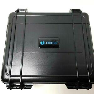 LEKUFEE Waterproof Hard Case Black for DJI FPV Combo + More DJI FPV Drone LK800-