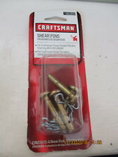 Shear Bolts and Cotter Pins by Craftsman Snowblower Shear Pins Thrower Machinery