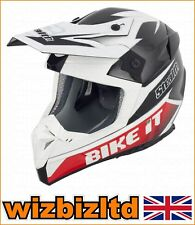 Stealth Helmet HD210 MX Carbon BIKE IT GP Replica  L STH101L