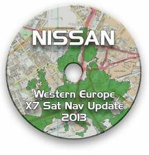 NISSAN SAT NAV UPDATE DVD 2013 - NAVARA PATHFINDER X-TRAIL QASHQAI PATROL MURANO