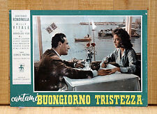 CANTAMI BUONGIORNO TRISTEZZA fotobusta poster Giacomo Rondinella Vitale E33