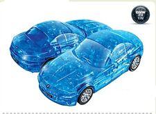 """3D PUZZLE 60 PIECES """"BMW Z-4  : Blue"""" / CRYSTAL PUZZLES"""
